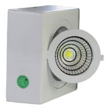 12W COB Surface Downlight Square